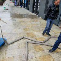 老广场地面清洗