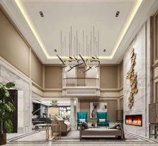 蓝光林肯墅别墅装修参考图丨现代轻奢设计案例