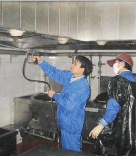 深圳龙岗大型油烟机清洗价格多少
