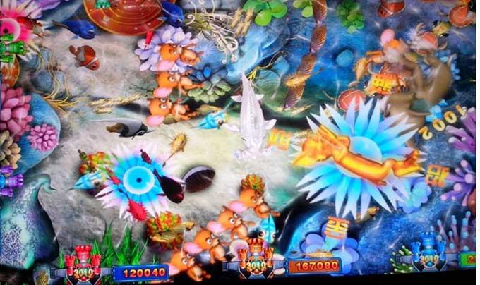 八仙过海加强版打鱼游戏机,广州源头八仙过海捕鱼机生