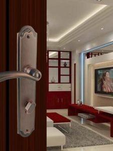 室内门锁安装