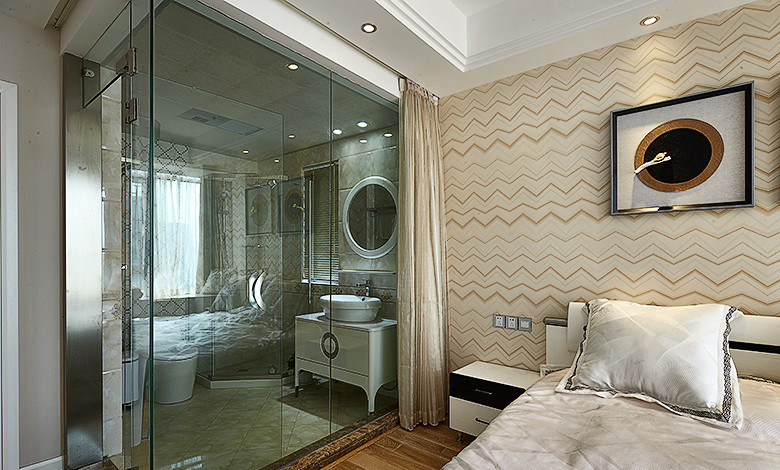 样板房装修效果图,大晶装饰设计师( 15928743572)    美容院装修效果