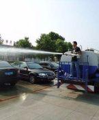 大型高压清洗车保养及维护