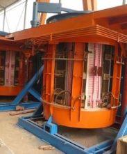 全国违规钢厂中频炉全部停产   上海中频炉