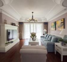 恒大御龙天峰装修实景图 丨现代美式风格设计方案