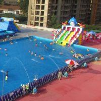 金太阳游乐水上乐园 充气水池 支架水池 大型游泳池