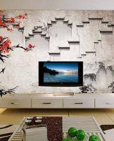 徽派电视背景墙装修