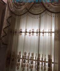 酒店及别墅布艺窗帘