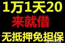 广州小额无抵押信用贷款 零用贷 汽车抵押贷
