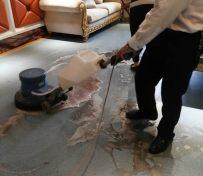 成都双流pvc橡胶地板专业清