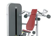 百利恒肩部推举训练器健身房器材商用力量器械