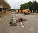 高压车疏通管道,抽泥浆,化粪池清理,市政管道疏通,抽污水
