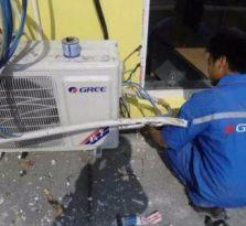 南充格力空调安装、移机