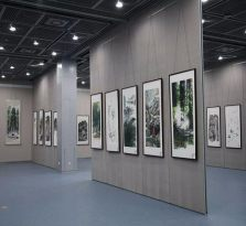 杭州办公隔断,杭州展览厅隔断,杭州展示柜隔断