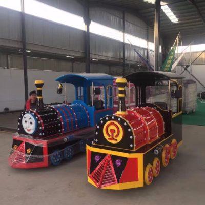 金太阳游乐 复古火车 无轨火车 观光火车游览小火车