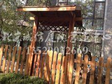 大兴防腐木栅栏花园设计施工公司