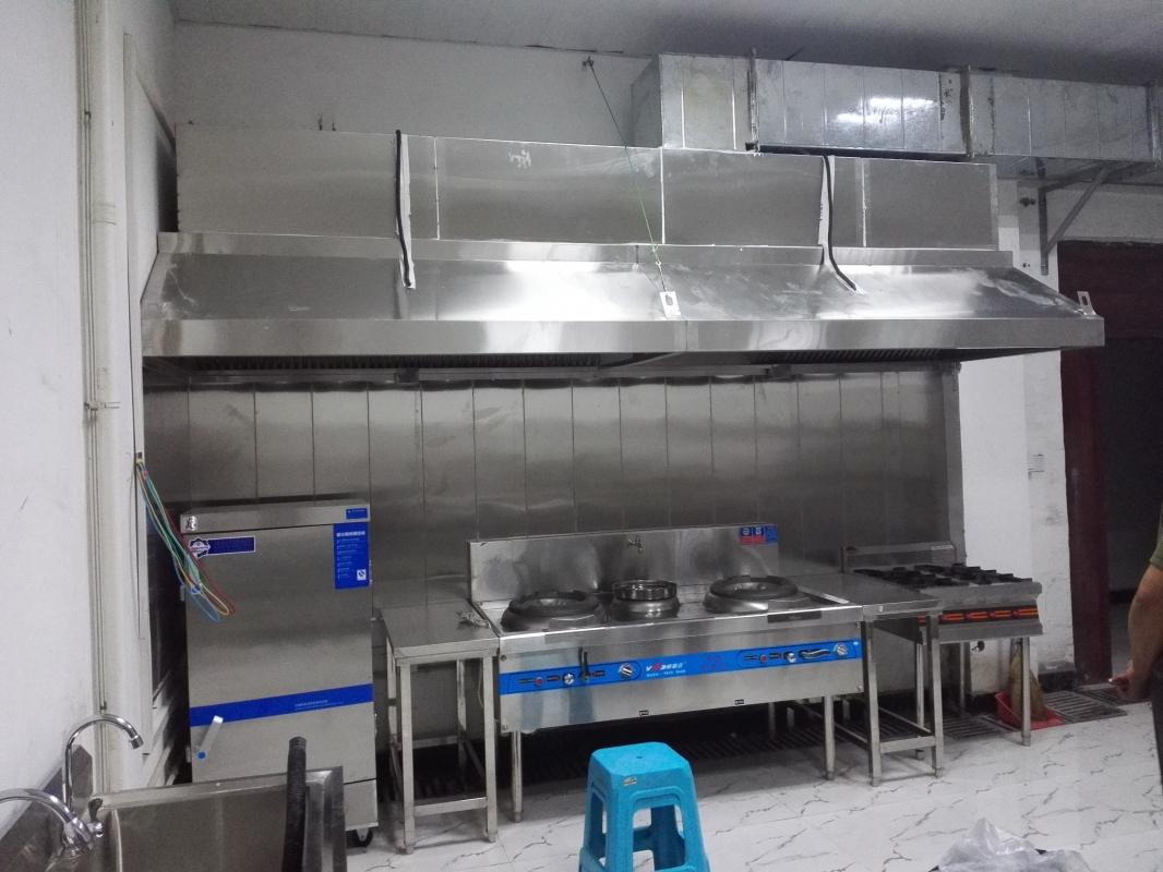 石家庄饭店厨房排烟罩风道