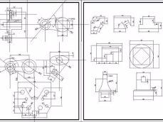 设计图纸打印、CAD设计稿打印