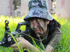"""2016南野战军 """"野外生存""""冬令营"""