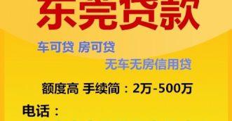 东莞贷款公司