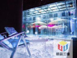 激光内雕玻璃 茶餐厅玻璃