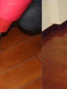 实木地板清洗打蜡