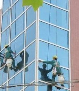 西青区玻璃清洗服务 西青区开荒保洁 环宇保洁