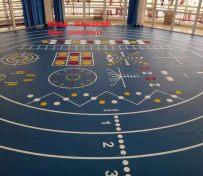 健身房运动地板 健身房塑胶地