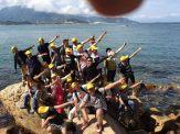 公司海岛训练 海岛生存野炊杨梅坑快艇刷州岛一日游