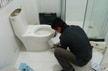 专业维修马桶漏水!