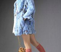 杭州女装拍摄皮草外模棚内拍摄