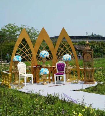 婚礼场地搭建布置