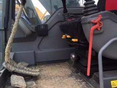 二手沃尔沃140B挖掘机
