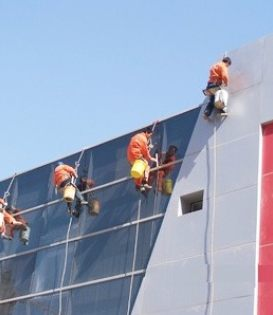 昆明专业玻璃外墙清洗公司