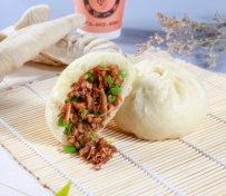 竹笋鲜肉大包