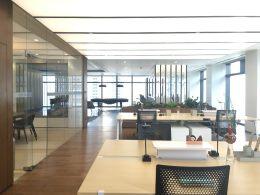 华润置地大厦1000平高层户型方正 双面采光视野好