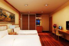 重庆酒店宾馆装修设计室内效果图、重庆爱港装饰