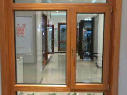 天津无缝焊接铝包木门窗