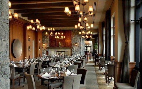 重庆南岸区餐饮饭店装修设计,南岸餐厅装修设计