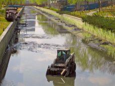 上海河道清淤