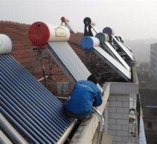 温州梧田 太阳能热水器维修安装