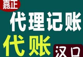 江汉区青年路附近代理记账、财务审计等一站式服务
