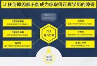 龙华网络教育提升学历时间短,高通过率 2.5年左右拿证