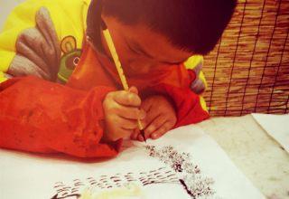 2017杨浦少儿暑托班 学习兴趣相结合,写写画画过暑假