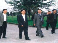 四川省政协主席柯樽平、副省长杨兴平视察学校