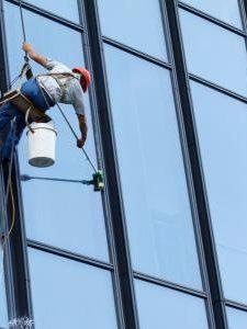 高空玻璃清洗成功案例
