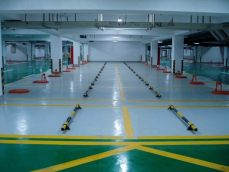 停车场地坪及交通设施