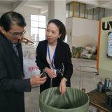 萍乡旭一环保设备填料厂迎来江苏某大型化工厂莅临考察