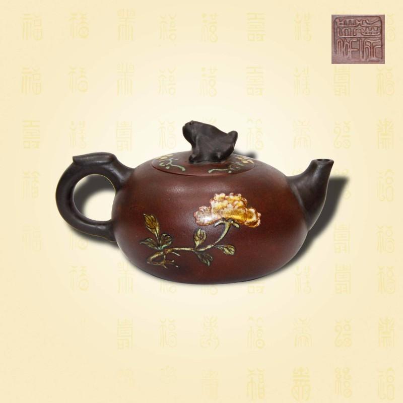 顾景舟款紫砂壶