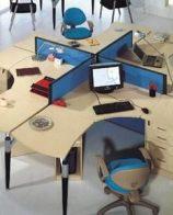 重庆江北办公屏风隔断办公桌定做 办公桌隔断屏风厂家定做